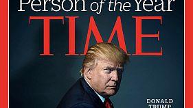 Donald Trump lett az év embere a Time-nál