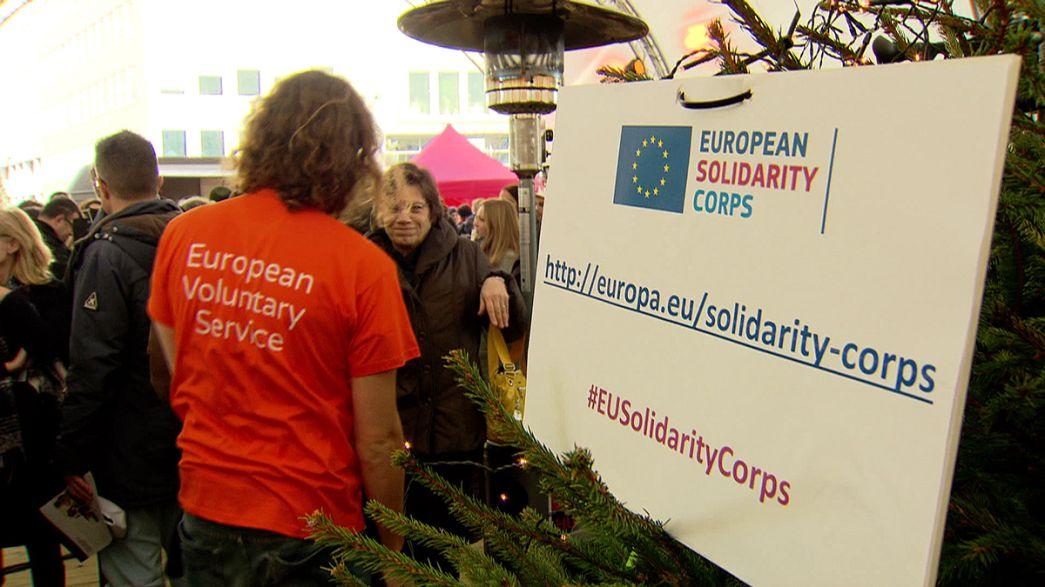 إطلاق أعمال الهيئة الأوروبية الشبابية للتضامن