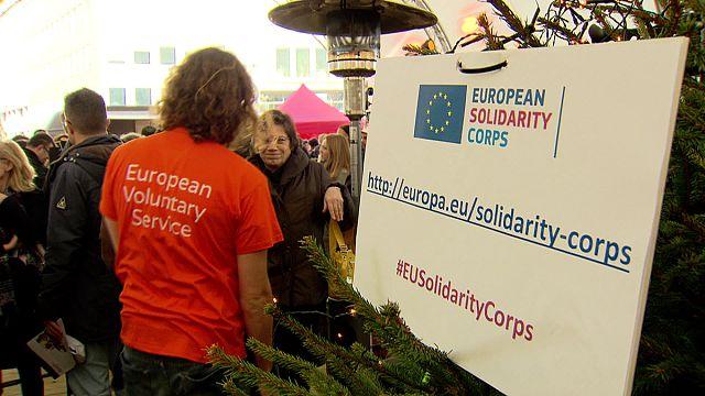 Start für das Europäische Solidaritätskorps