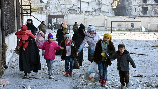 Aleppo in ruins as Assad celebrates a good 2016