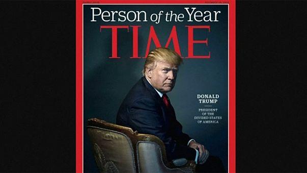 Donald Trump personalidade do ano da Revista Times