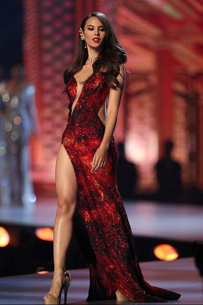 Miss Philippines Catriona Gray during the final round of the Miss Universe pageant in Thailand.