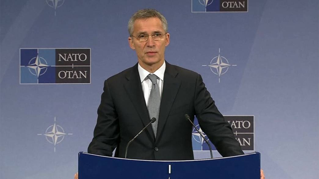 NATO boss urges West to maintain pressure on Russia over Ukraine