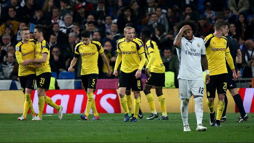 Sevilla y Real Madrid pasan a octavos de final como segundos de grupo