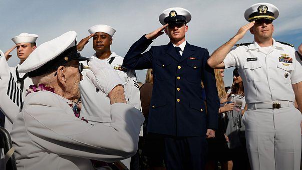 Amerika Pearl Harbor saldırısının 75'inci yıldönümünü anıyor
