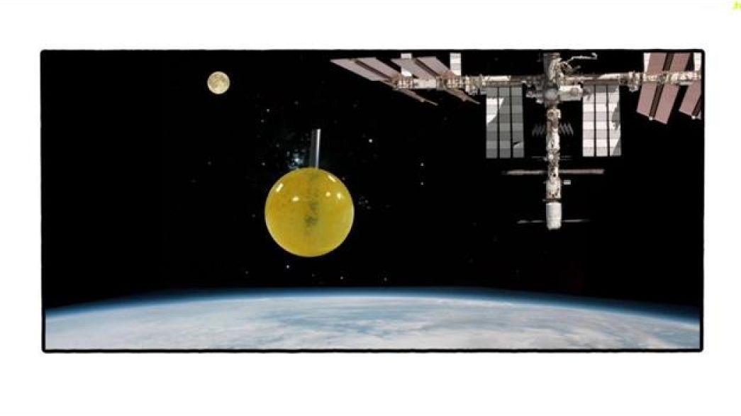 La canette de l'espace
