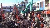 Depremin vurduğu Endonezya'da arama kurtarma çalışmaları sürüyor