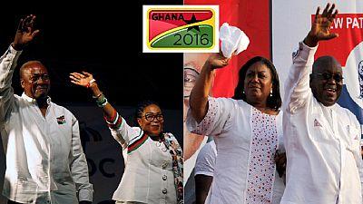 """Présidentielle au Ghana : le leader de l'opposition insiste sur """"sa victoire"""""""