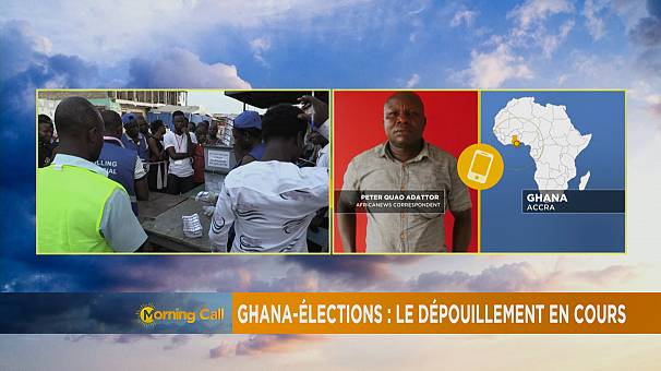 Ghana elections: Vote counting underway [The Morning Call]