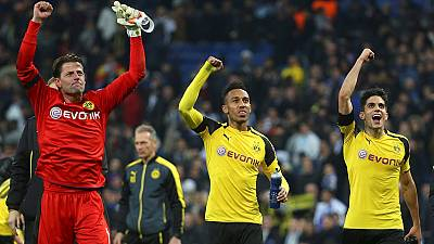 Champions League: Dortmund pip Real Madrid to Group F honours