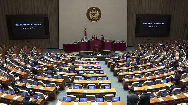Amtsanklageverfahren gegen Südkoreas Präsidentin eingeleitet