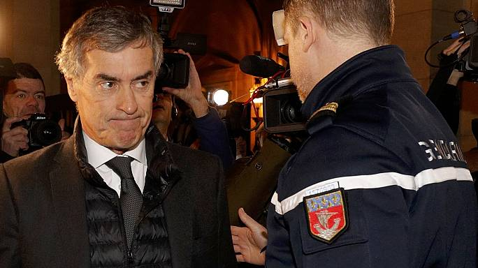 French ex-budget minister Cahuzac is jailed for tax fraud