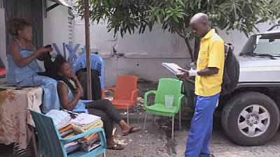 The postman is back in Kinshasa