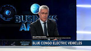 """Les bus électriques """"Blue Congo"""" arrivent à Pointe Noire [Business Africa]"""