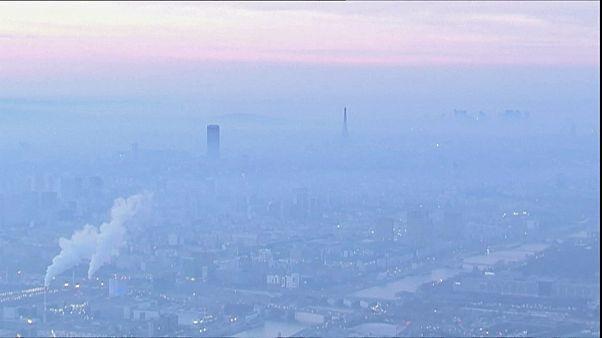 Paris e Lyon com poluição extrema
