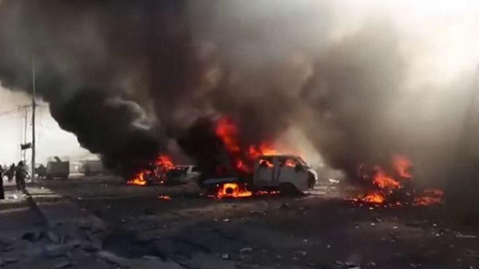 Irak : des dizaines de civils tués sur un marché d'Al Qaïm