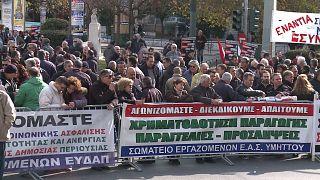 اضراب في اليونان احتجاجا على اجراءات تقشفية جديدة