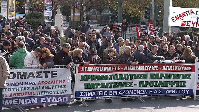 Yunanistan'da genel grev hayatı felç etti
