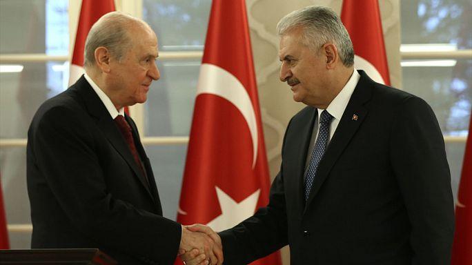 AK Parti ile MHP Anayasa teklifi metninde uzlaştı
