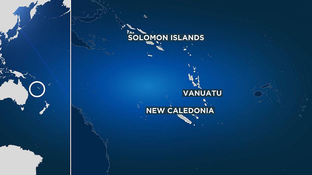 Землетрясение у побережья Соломоновых островов. Есть угроза цунами