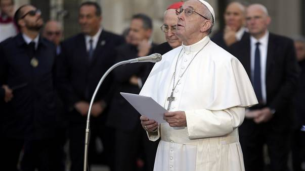 Pope prays for unemployed on Catholic feast day