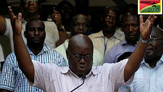 Ghana's main opposition party claims victory day after tight vote