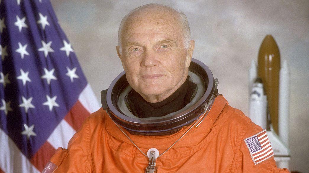 Скончался Джон Гленн - первый американец, облетевший вокруг Земли