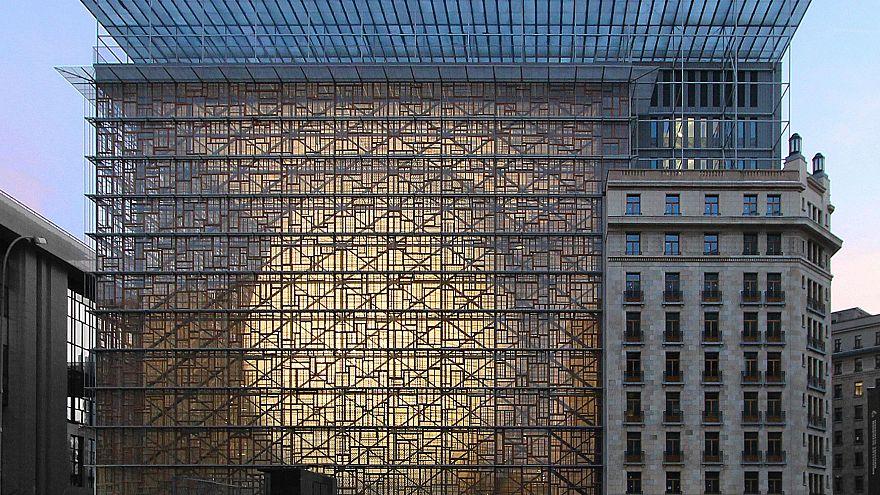 Meet the 'Space Egg', the EU's new €321 million headquarters