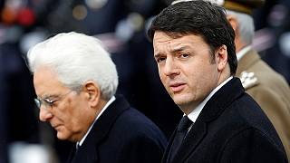 Italy's president starts talks to resolve political turmoil