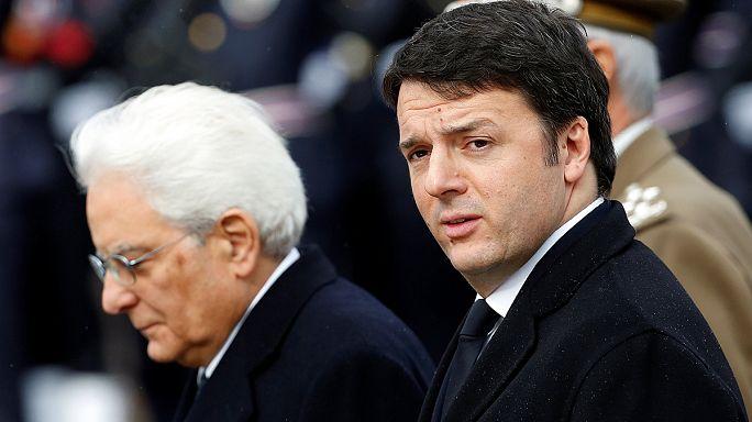 Italy's president starts talks to resolve political turmoil