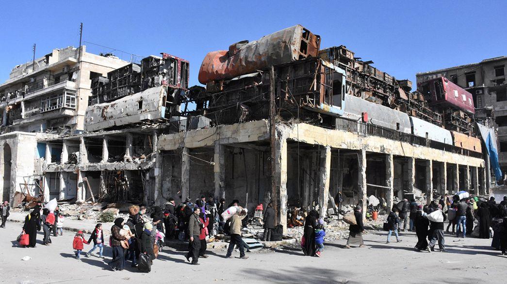 Síria: Rússia anuncia suspensão de ofensiva em Alepo