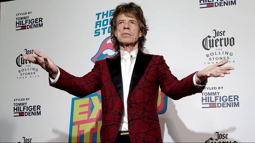 Mick Jagger - a dad again at 73!