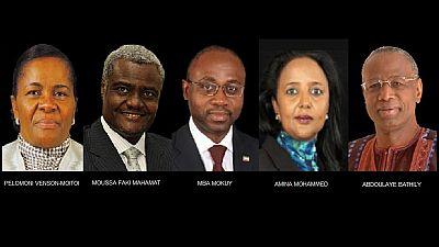 AU chair contenders meet in historic debate in Addis Ababa