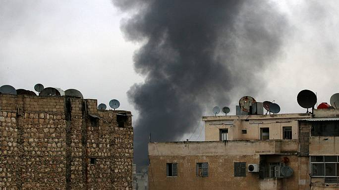 Weiter Kampfhandlungen in Aleppo