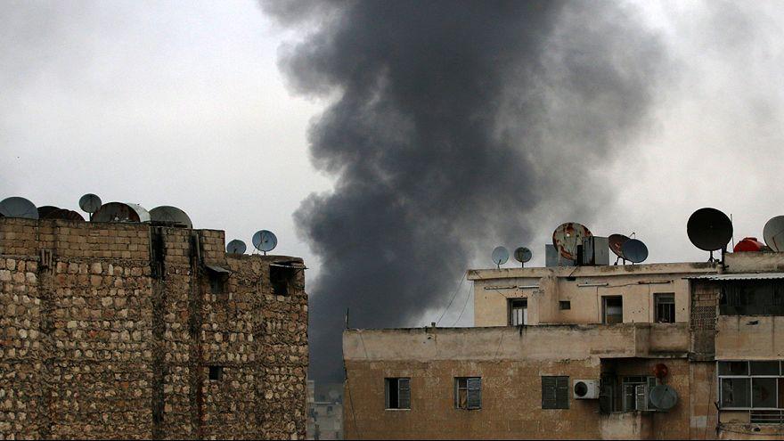 Rusya'nın ateşkes çağrısına rağmen Halep'te silahlar susmadı