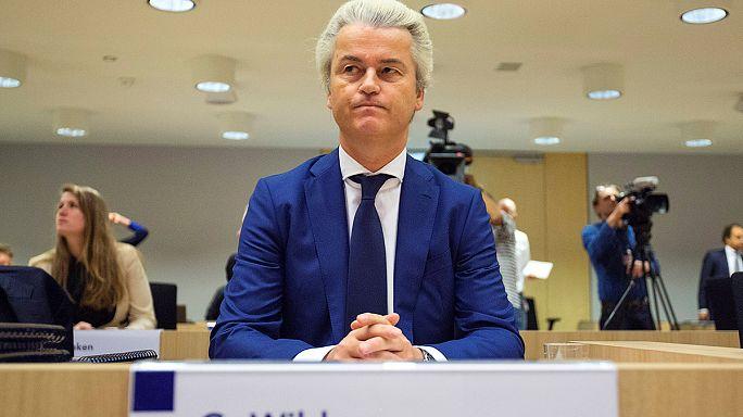 Hollandalı aşırı sağcı siyasetçi Wilders ırkçı ifadelerinden dolayı mahkum oldu
