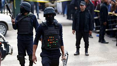 Six police officers killed in Cairo bombing