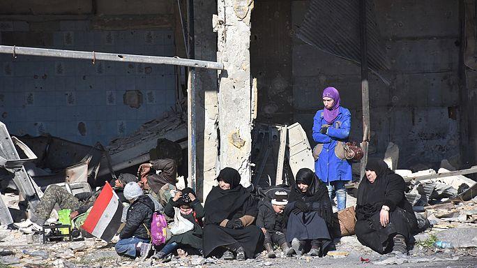 ООН: сотни беженцев из восточного Алеппо пропали без вести