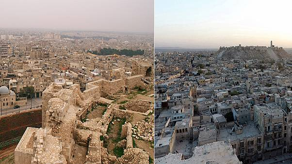 Watch: Aleppo before the war… and now!