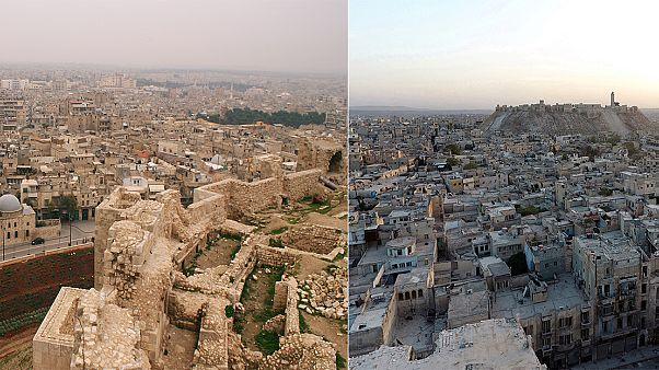 Aleppó: akkor és most