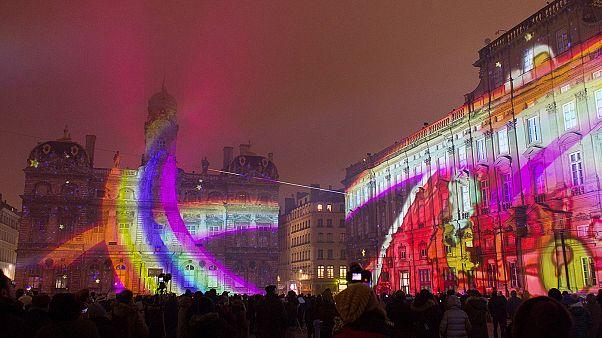 فستیوال جشن نور در شهر لیون فرانسه؛ نوآوری در طراحی و نورپردازی
