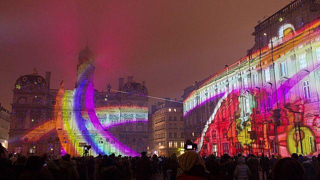 Lyon Işık Festivali en yaratıcı yılını yaşadı