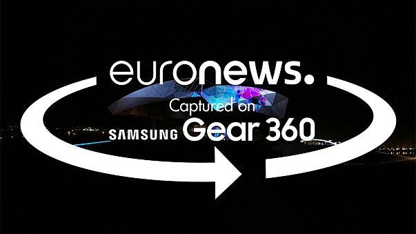 360 fokos videón a lyoni Fények Ünnepe
