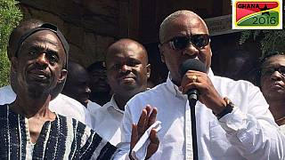 John Mahama promet de respecter les résultats de l'élection présidentielle