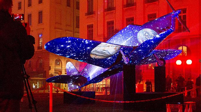 Lyon: Lichtsignale gegen die Terrorangst