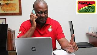 Ghana's president concedes defeat via phonecall to opposition leader