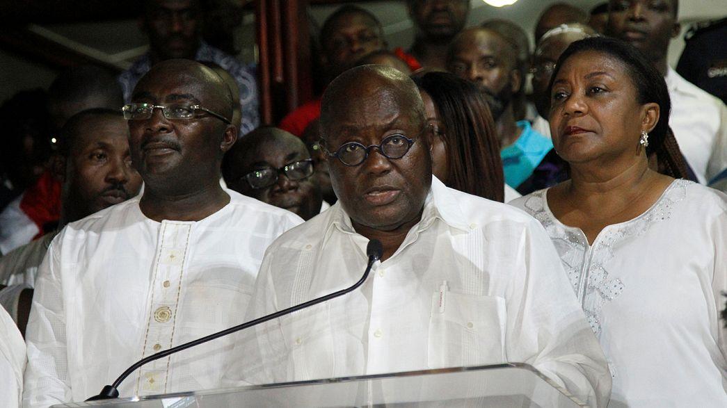 Оппозиционер избран президентом Ганы