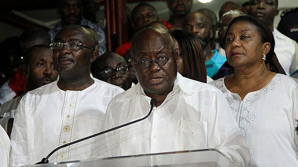 Machtwechsel in Ghana - Oppositionsführer Akufo-Addo gewinnt Präsidentenwahl