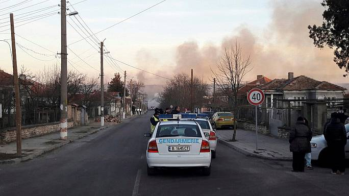 Felrobbant egy tehervonat Bulgáriában