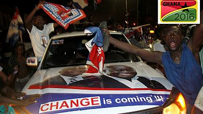 Ghana's political parties welcome election results as thousands celebrate Akufo-Addo's win